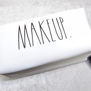 Rae Dunn MAKEUP. Cosmetic Pouch CPA05